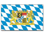 Flag Bavaria with lion