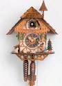 Cuckoo Clock 8 days Black Forest woman  8294