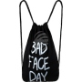 Backpack bag Gym Bag Bad Face Day black