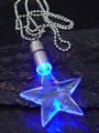 Power Lights Neckchains Star blue