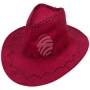 Cowboy hat Classic burgundy red