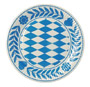 Plate Pasteboard round Bavarian