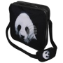 Messenger Bag Motif Panda black/white