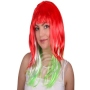 Wig Countries Italy red/white/green
