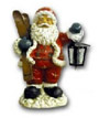 Santa Claus with lamp K626
