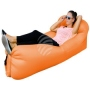 Air lounge air couch with bag orange