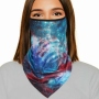 Zandanas Headscarves Biker black Model 072