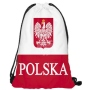 Gym bag Gymsac Design Poland red/white
