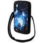 Messenger Bag Courier bag Galaxy black/blue