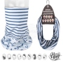 Multifunctional cloth 9 in 1 Multi-purpose scarf Anchor  maritim
