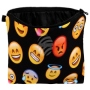 Cosmetic bag with motive Emoji-con