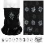 Multifunctional cloth 9 in 1 Multi-purpose scarf Edelweiss black