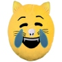 Cat Emoticon Pillows LOL yellow