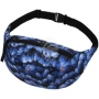 Fanny pack Hipbag Blueberry blue