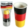 Paper cup, Germany flag