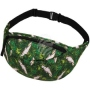 Fanny pack Hipbag Cockatoo and plants green