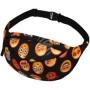 Fanny pack Hipbag Emoticons black