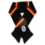 Scarf black Germany flag with stripes
