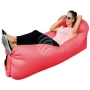 Air lounge air couch with bag red
