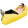 Air lounge air couch with bag yellow