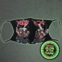 Respirator mask with motif Glow in the dark MASK-083