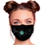 Motif mask adjustable with motif AM-626