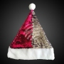 Santa hat sequins with pompom WM-124