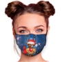 Motif mask adjustable with motif AM-369