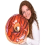 Donut pillows Bright Chocolateglaze