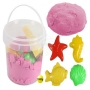 Magic sand down the drain pink 1000g