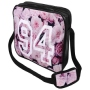Messenger Bag Motif Roses 94 Color pink